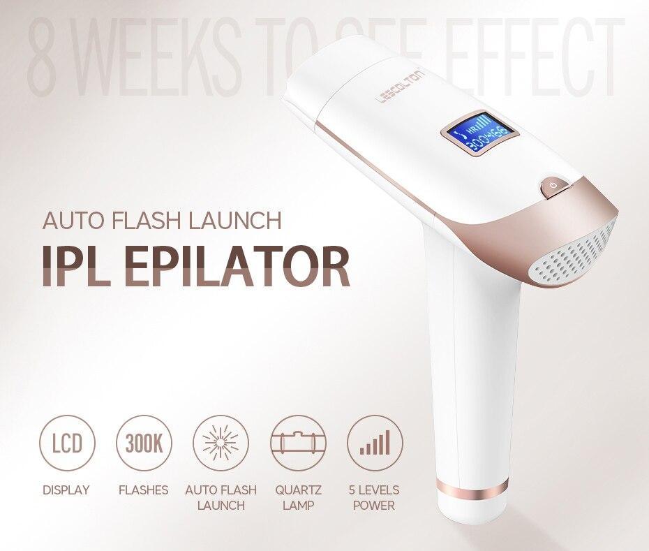 Goodbye Hair IPL Epilator